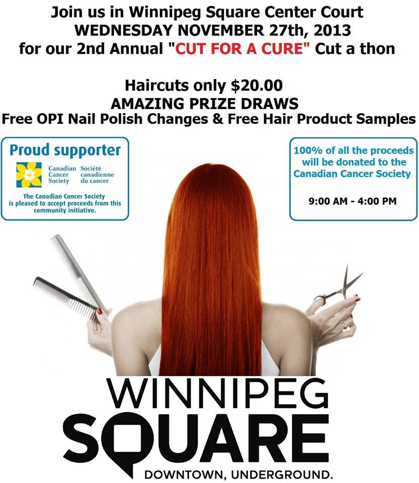Cut for the Cure poster