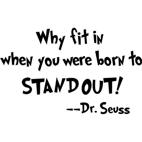 Stand out - Seuss
