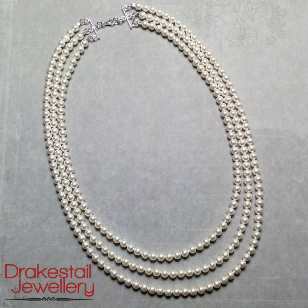 100 Day Challenge: Day 42.  Vintage by Drakestail Jewellery Necklace.