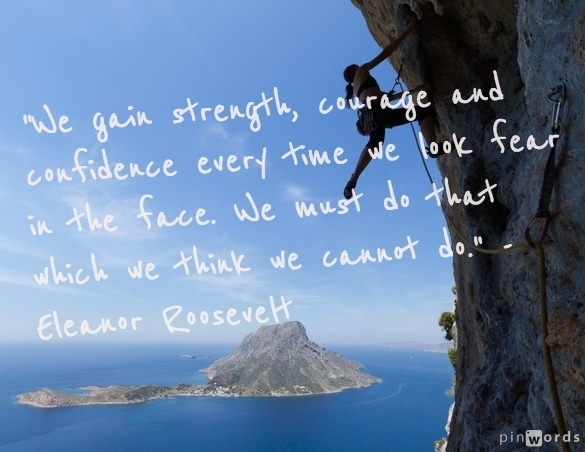 famous quote by Eleanor Roosevelt. www.drakestail.com
