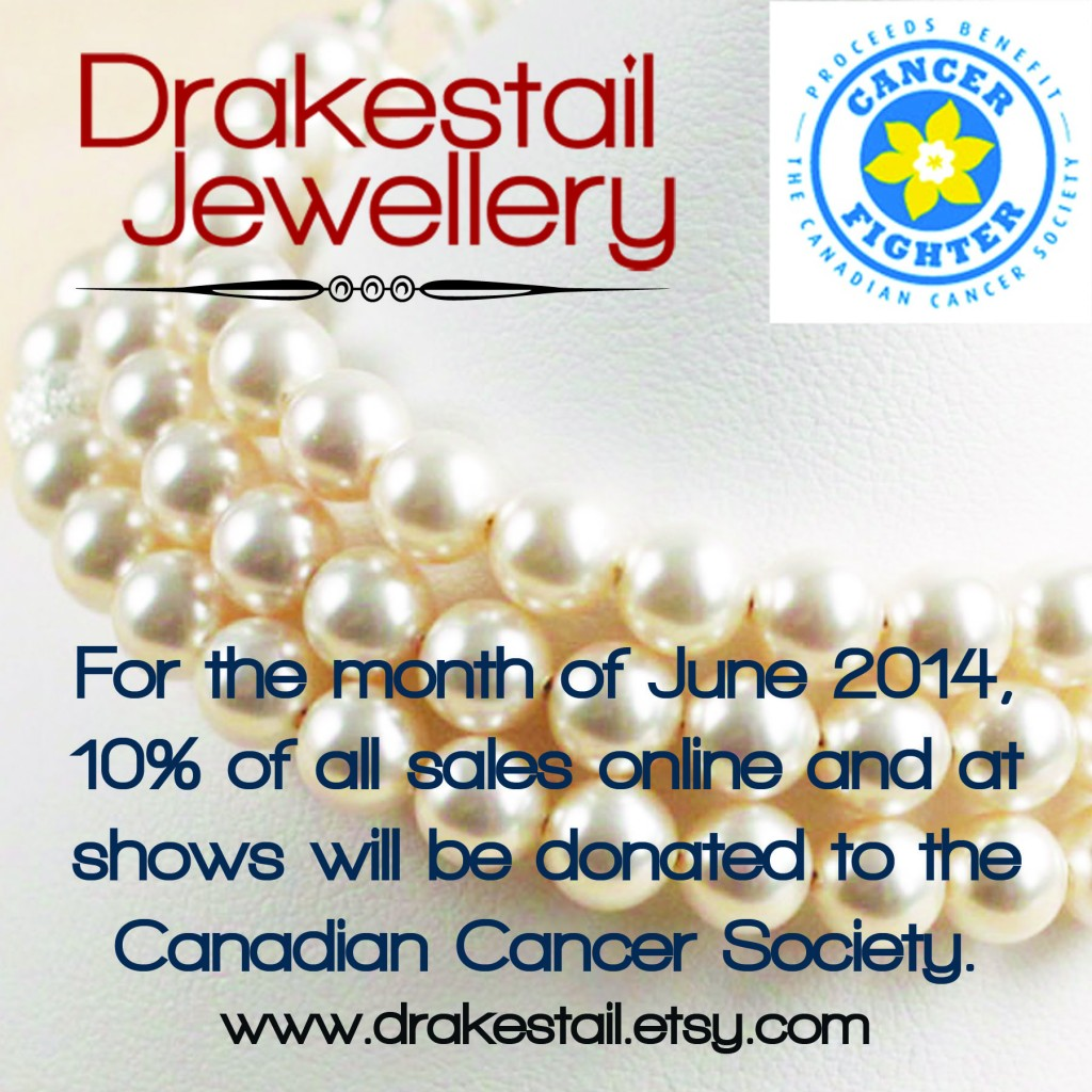 Drakestail supporting the Canadian Cancer Society