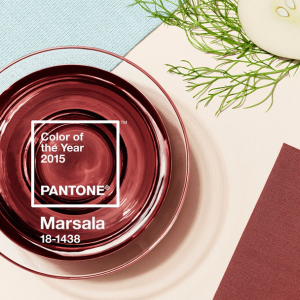Pantone Color Institute Marsala