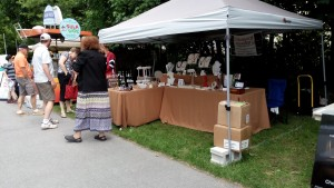 Drakestail Jewellery at Arts in the Park 2015