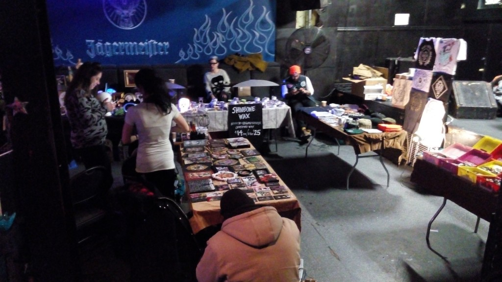 Vendors at the Bizarre Bazaar, February 2016