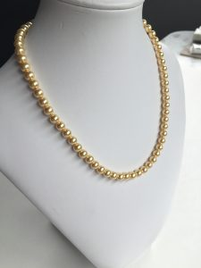 14 inch pearl necklace