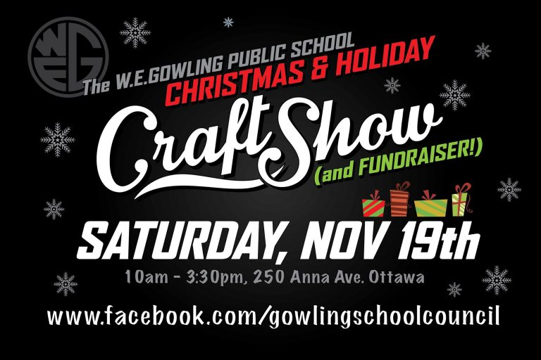 WE Gowling Christmas & Holiday Craft Show 2016